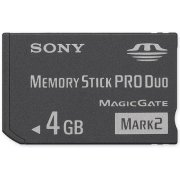 Sony Memory Stick Pro Duo 4GB Mark 2