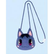Animal Crossing Face Plush Pouch - Model D: Bouquet