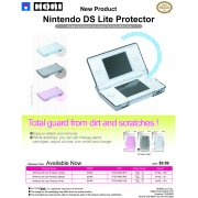 Nintendo DS Lite Protector (Clear Black)