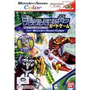 Digital Monster Card Game Ver. WonderSwan Color [First-Print Edition w/ Collector's Card]