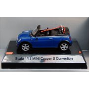 MJX R/C Technic 1/43 Scale Mini Cooper S Convertible (Blue)