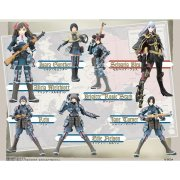 TFC Valkyria Chronicles Non Scale Pre-Painted PVC Trading Figure
