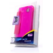 Crystal Case (Tinted Fuschia)