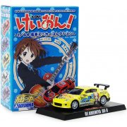 K-On! 1/64 Itasha Miniature Collection Trading Figure