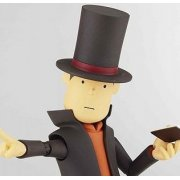 Revoltech Series No. 086 - Professor Layton Non Scale Pre-Painted PVC Action Figure: Professor Layton
