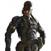 Metal Gear Solid Peace Walker Play Arts Kai Pre-Painted Figure: Snake (Sneaking Suit Version) Re-run