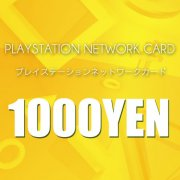 PlayStation Network Card / Ticket (1000 YEN / for Japanese network only)