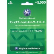 PlayStation Network Card / Ticket (5000 YEN / for Japanese network only)