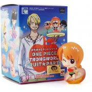 Petit Chara Land Series Non Scale Pre-Painted Trading Figure: One Piece Strong World Fruit Party