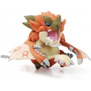 Monster Hunter Furifuri Mascot Key Chain: Rioreus (Re-Run)
