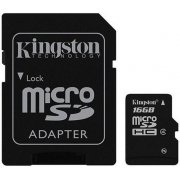 Kingston Micro SD Card 16GB Class 4
