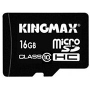Kingmax Micro SD Card 16GB Class 10 (W/ Adapter)