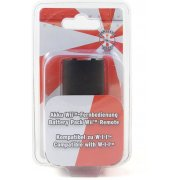 Kamikaze Battery Pack Wii Remote (Black)