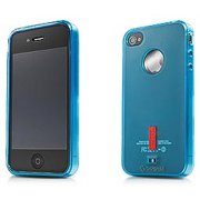 XPOSE iPhone 4 Soft Jacket 2 case (Blue)