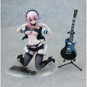 Thumbnail for Nitro Super Sonic 1/7 Scale Pre-Painted PVC Figure: Super Sonico Bondage Ver.