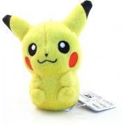 Pokemon Best Wishes Key Chain Plush Doll: Pikachu