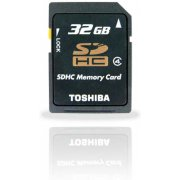 Toshiba SD Card 32GB Class 4