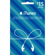 iTunes Card (US$ 15 / for US accounts only)