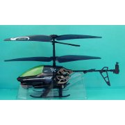 Silverlit R/C Power In Air Infrared Control Helicopter: Spy Cam (Black Ver.)