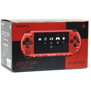 PSP PlayStation Portable Slim & Lite - Black & Red (PSPJ-30026)