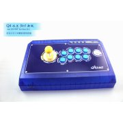 Qanba Real Arcade Fightingstick Q4 (3in1) (Ice Blue Limited Edition)
