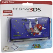 Nintendo 3DS Mario Dual Injected Crystal Armor Case