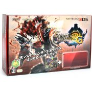 Nintendo 3DS (Monster Hunter 3G Beginner Hunters Pack Red Edition)