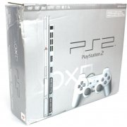 PlayStation2 Console Satin Silver (120V US NTSC Version) (Damage Box)