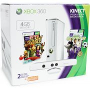 Xbox 360 Special Edition (4GB) Kinect Family Bundle (White)