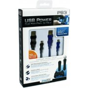 DreamGear - USB Power Dual Pack (Black &amp; Blue)