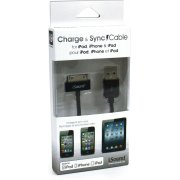 i.Sound USB Charge & Sync Cable (Black)