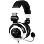 DreamGear Elite Gaming Headset (White and Black)