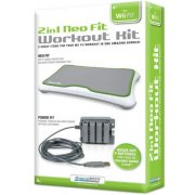 DreamGear 2 In 1 Neo Fit Workout Kit for Wii Fit - Green and Gray