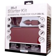 DreamGear 20 in 1 Starter Kit for DSi XL - Burgundy