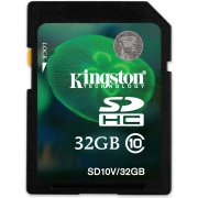 Kingston SD Card 32GB Class 10