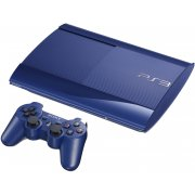 PlayStation3 New Slim Console (500GB Azurite Blue Model)