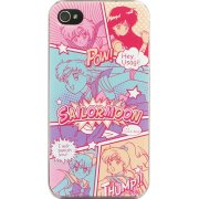 Sailor Moon iPhone 4/4S Hard Case: MSM-01CO (Comic Pattern)