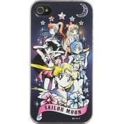 Sailor Moon iPhone 4/4S Hard Case: MSM-01BK (Gothic Pattern)