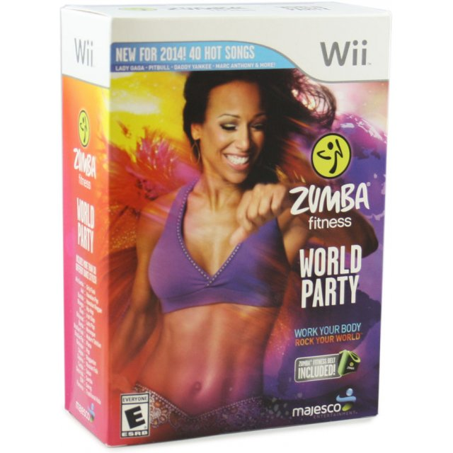 zumba fitness world party comes with one zumba fitness belt 124652.2 Zumba Fitness World Party (Comes with One Zumba Fitness Belt)