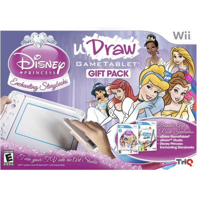 uDraw Tablet with Disney Princess and uDraw Studio 307363.1 uDraw Tablet with Disney Princess and uDraw Studio